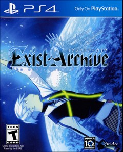 Exist Archive: The Other Side of the Sky PlayStation 4 Box Art