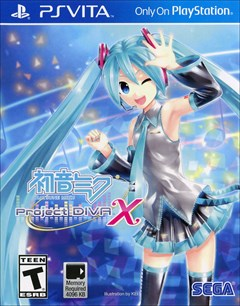 Hatsune Miku: Project DIVA X PlayStation Vita Box Art
