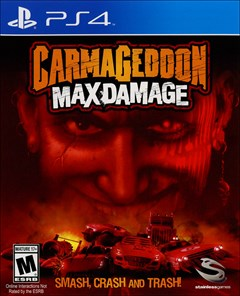 Carmageddon: Max Damage PlayStation 4 Box Art