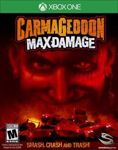 Carmageddon: Max Damage Xbox One Box Art