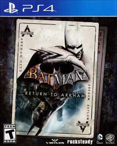 Batman: Return to Arkham PlayStation 4 Box Art
