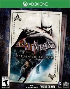 Batman: Return to Arkham Xbox One Box Art