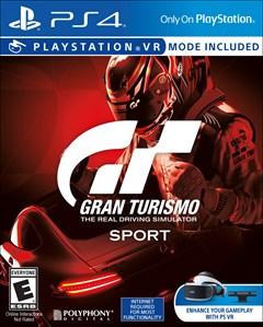Gran Turismo Sport PlayStation 4 Box Art