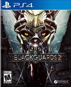 Blackguards 2 PlayStation 4 Box Art