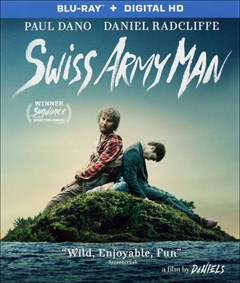 Swiss Army Man Blu-ray Box Art
