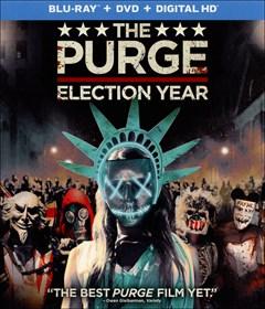 The Purge: Election Year Blu-ray Box Art