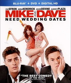 Mike & Dave Need Wedding Dates Blu-ray Box Art