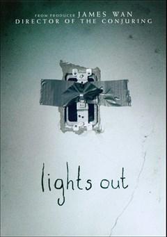 Lights Out DVD Box Art
