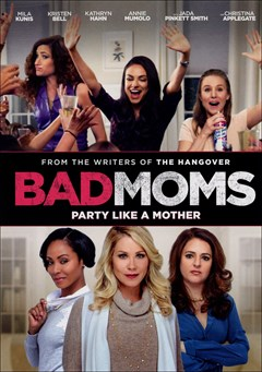 Bad Moms DVD Box Art
