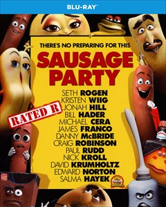 Sausage Party Blu-ray Box Art
