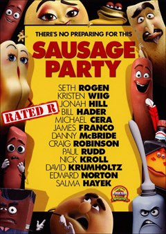 Sausage Party DVD Box Art