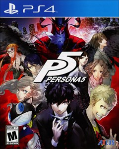 Persona 5 PlayStation 4 Box Art