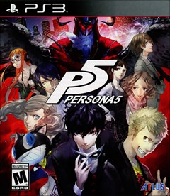 Persona 5 PlayStation 3 Box Art