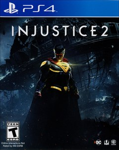 Injustice 2 PlayStation 4 Box Art