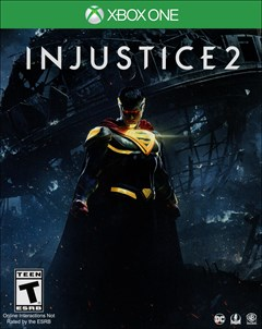 Injustice 2 Xbox One Box Art