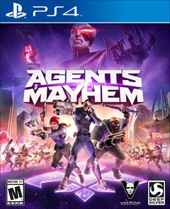 Agents of Mayhem PlayStation 4 Box Art