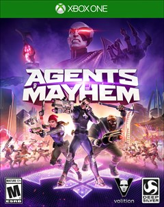 Agents of Mayhem Xbox One Box Art