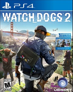 Watch Dogs 2 PlayStation 4 Box Art