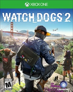 Watch Dogs 2 Xbox One Box Art