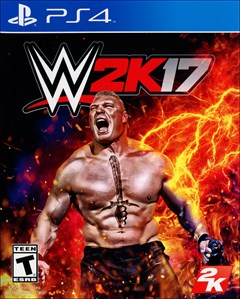 WWE 2K17 PlayStation 4 Box Art