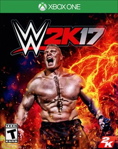 WWE 2K17 Xbox One Box Art