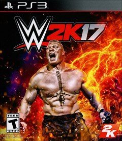 WWE 2K17 PlayStation 3 Box Art