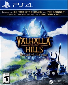 Valhalla Hills: Definitive Edition PlayStation 4 Box Art