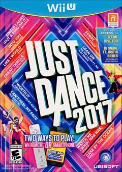 Just Dance 2017 Wii U Box Art
