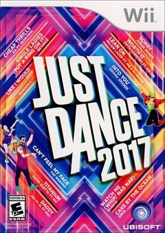 Just Dance 2017 Wii Box Art