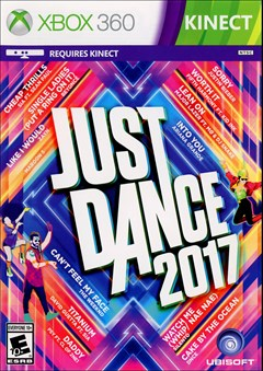 Just Dance 2017 Xbox 360 Box Art