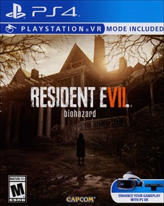 Resident Evil 7 Biohazard PlayStation 4 Box Art