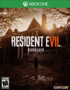 Resident Evil 7 Biohazard Xbox One Box Art