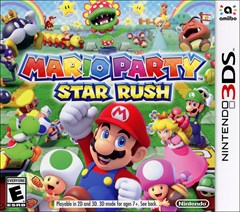 Mario Party: Star Rush Nintendo 3DS Box Art