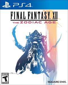 Final Fantasy XII: The Zodiac Age PlayStation 4 Box Art