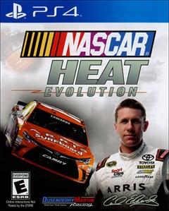 NASCAR Heat Evolution PlayStation 4 Box Art