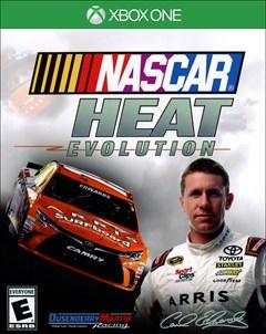 NASCAR Heat Evolution Xbox One Box Art
