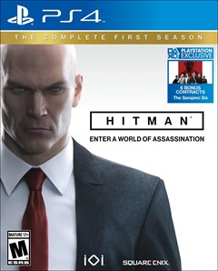 Hitman: The Complete First Season PlayStation 4 Box Art