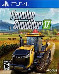 Farming Simulator 17 PlayStation 4 Box Art