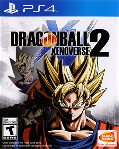 Dragon Ball Xenoverse 2 PlayStation 4 Box Art