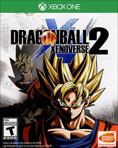 Dragon Ball Xenoverse 2 Xbox One Box Art