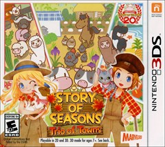 Story of Seasons: Trio of Towns Nintendo 3DS Box Art