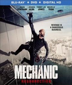 Mechanic: Resurrection Blu-ray Box Art