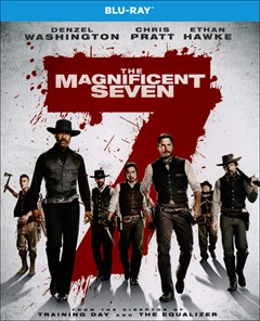 Magnificent Seven (2016) Blu-ray Box Art