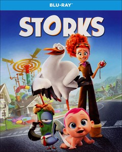 Storks Blu-ray Box Art