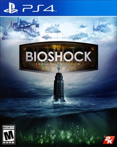 BioShock: The Collection PlayStation 4 Box Art
