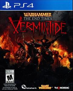 Warhammer: End Times - Vermintide PlayStation 4 Box Art