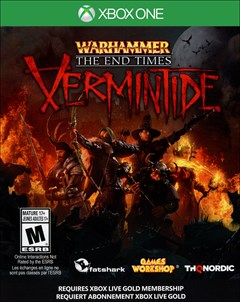 Warhammer: End Times - Vermintide Xbox One Box Art