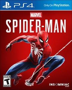 Spider-Man PlayStation 4 Box Art