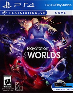 PlayStation VR Worlds PlayStation 4 Box Art
