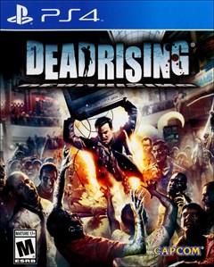 Dead Rising PlayStation 4 Box Art